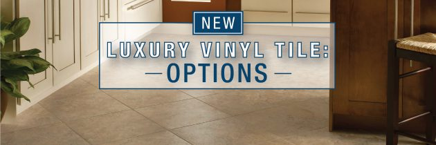 New Luxury Vinyl Tile Gives the Look of Ceramic and the Ease of Vinyl