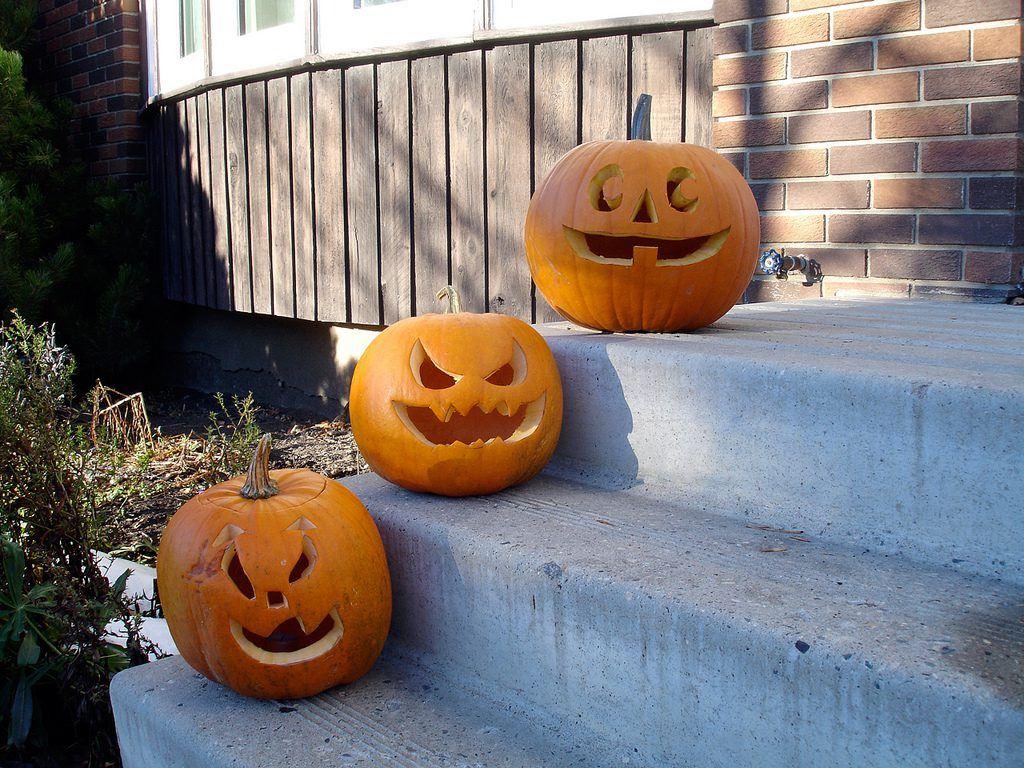 house ready for halloween