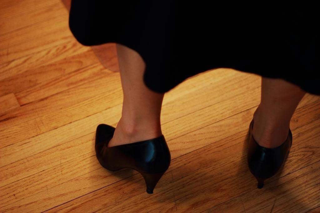 remove heel marks