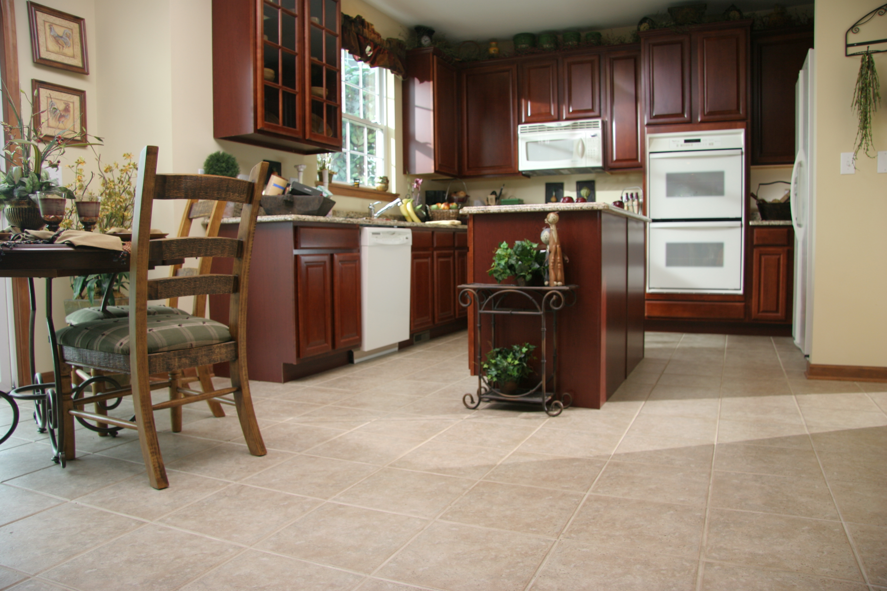 5 flooring options for kitchens and bathrooms empire Luxury kitchen flooring