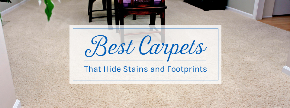 Best Carpets That Hide Stains and Footprints