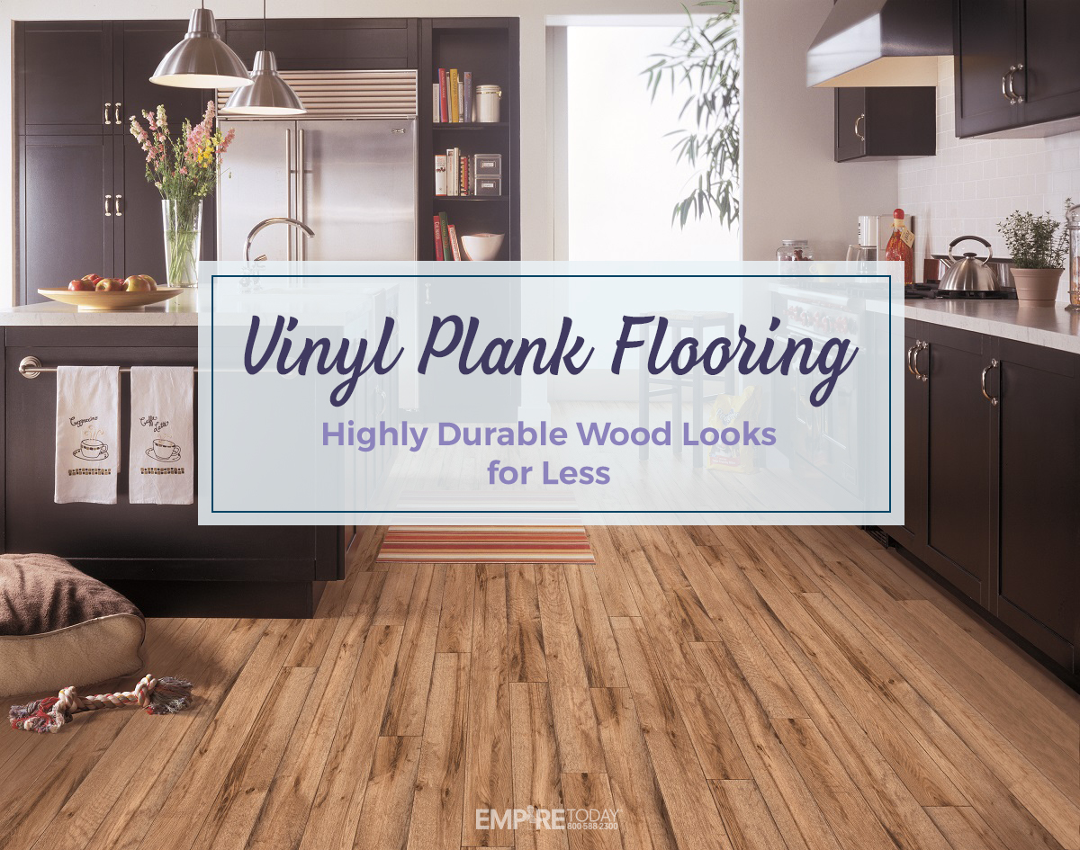 Highly Durable Vinyl Plank Flooring