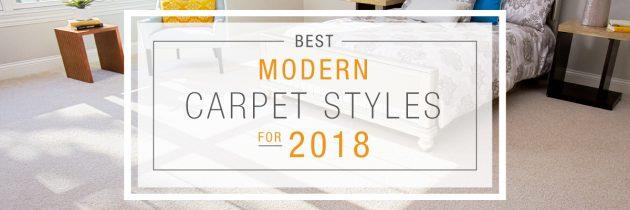 The Best Modern Carpet Styles for 2018