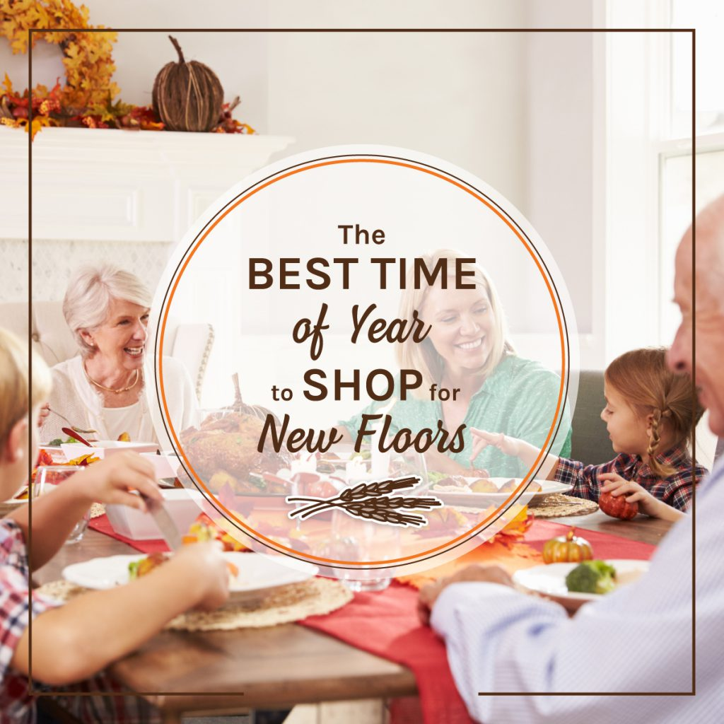 best time to shop for new floors