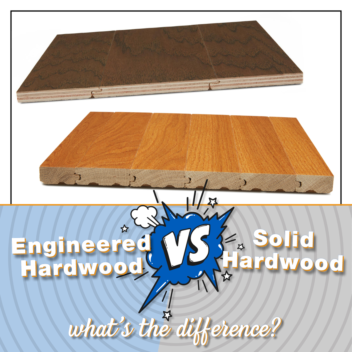 What's the Difference Between Engineered HArdwood and Solid Hardwood