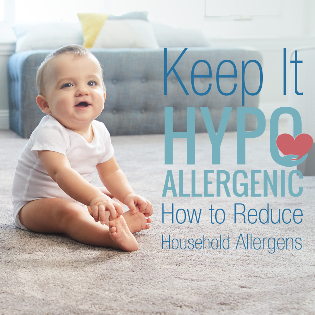 keep it hypoallergenic how to reduce household allergens baby photo