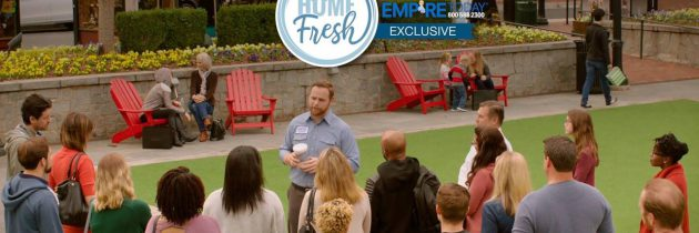 Empire Man Gives A Demo to Show HOME Fresh Carpet's Technology