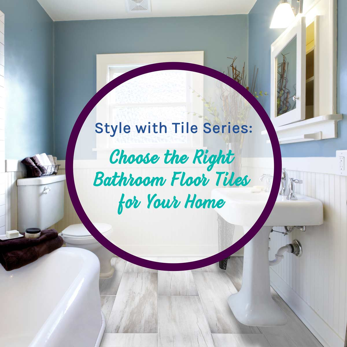 choosing bathroom floor tiles