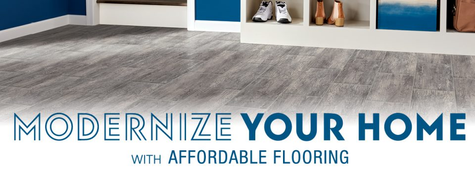 Modernize Your Home with Affordable Flooring